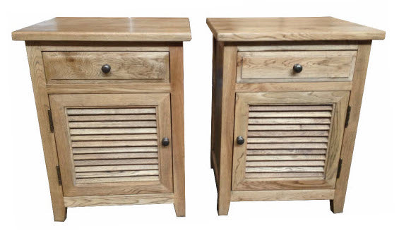 PLANTATION BEDSIDE TABLES