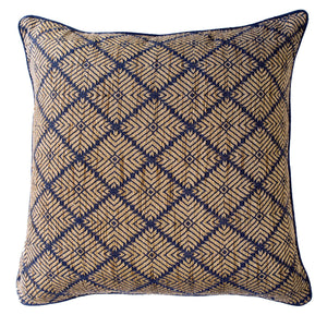 PHULKARI NAVY LOUNGE CUSHION