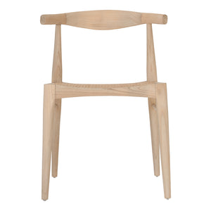 Rita Horn Dining Chair | Natural
