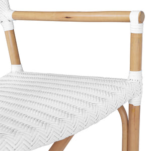 SAFARI ARM CHAIR | WHITE