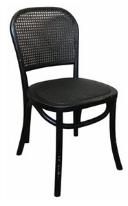 CAYMAN DINING CHAIR BLACK