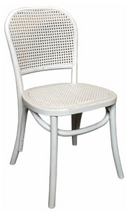 CAYMAN DINING CHAIR WHITE