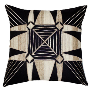 SHOOWA BLACK LOUNGE CUSHION