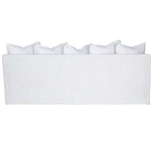 SINGITA OUTDOOR SOFA 3 SEAT - WHITE