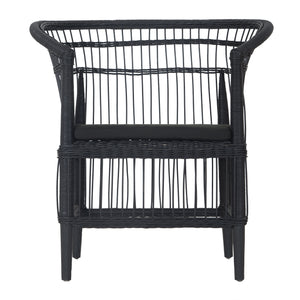 SONGWHE DINING CHAIR | BLACK