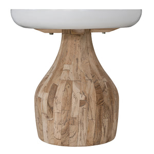 St James Side Table | White