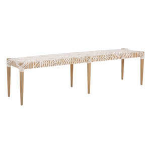 SWENI BENCH | WHITE