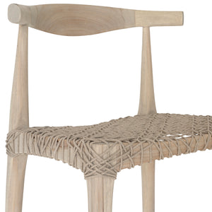 SWENI HORN ROPE BARCHAIR | NATURAL