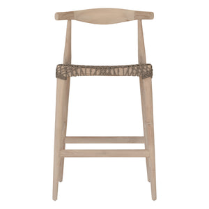 SWENI HORN ROPE BARCHAIR | TAUPE