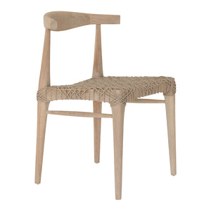 SWENI HORN DINING CHAIR | NATURAL
