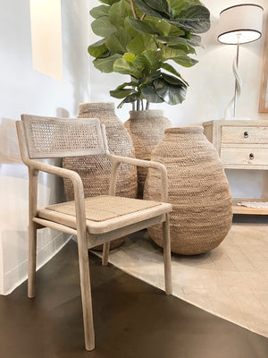 TOBY DINING ARMCHAIR NATURAL