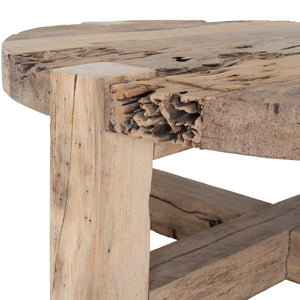 TEMBISA COFFEE TABLE ROUND | NATURAL
