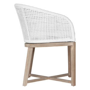 TULA DINING CHAIR | WHITE