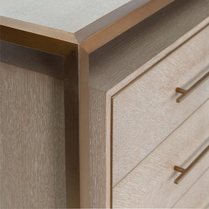 WALDO | Oak 6 Drawer Sideboard