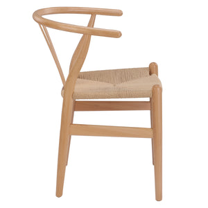 WISHBONE CHAIR - NATURAL