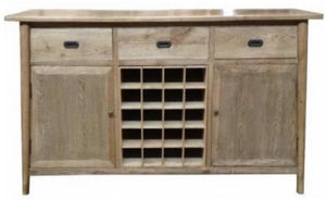 ASPEN | Oak Wine Holder Buffet