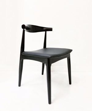ELBOW DINING CHAIR | BLACK