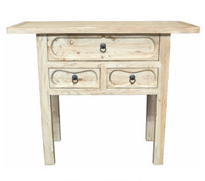 SANJI 3 DRAWER HALL TABLE