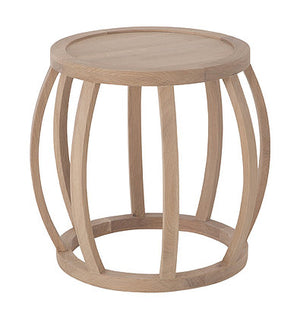 CRABO SIDE TABLE - NATURAL FRENCH OAK