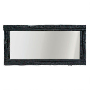 HANALE MIRROR CHARRED - UNIQWA FURNITURE