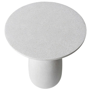 KANBE SIDE TABLE - WHITE