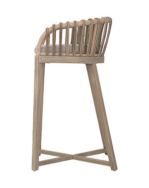 MALAWI TUB BARSTOOL - NATURAL