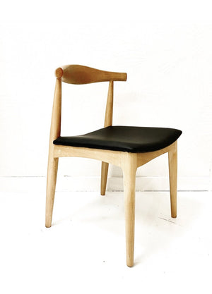 ELBOW DINING CHAIR NATURAL