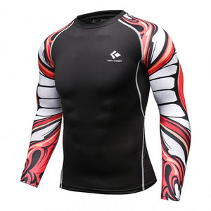 Men's Compression Long Sleeve Workout Shirt