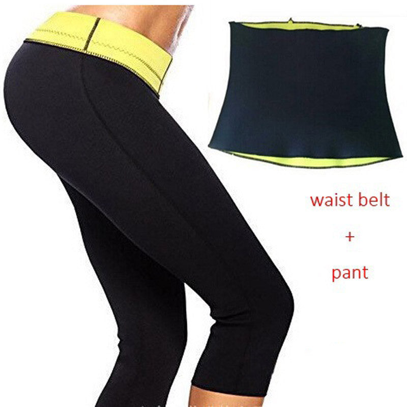 Thermo Slimming Body Shaper Waist Trainer Belt and Leggings