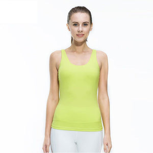 Women's Sleeveless Breathable Quick Dry Fitness Tank Top