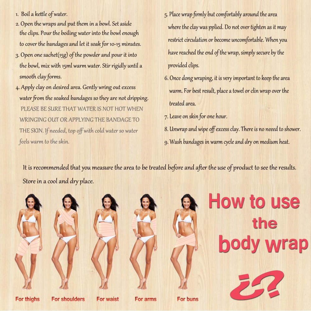 Detox Body Wraps and Weight Loss Patch
