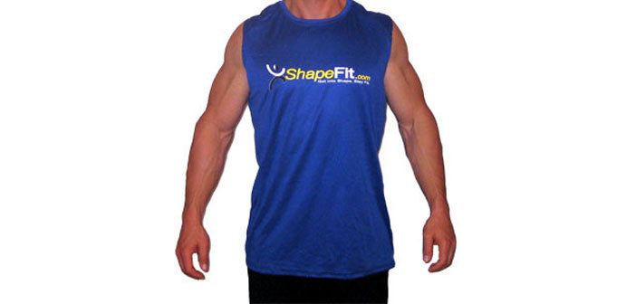 ShapeFit Sleeveless Workout T-Shirt