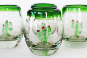 shot glass small cactus