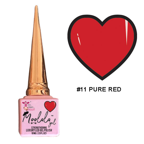 Moolala™ 2 STEP GEL - #11 PURE RED