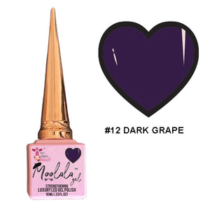 Moolala™ 2 STEP GEL - #12 DARK GRAPE
