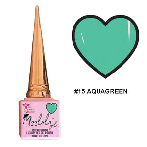 Moolala™ 2 STEP GEL - #15 AQUAGREEN