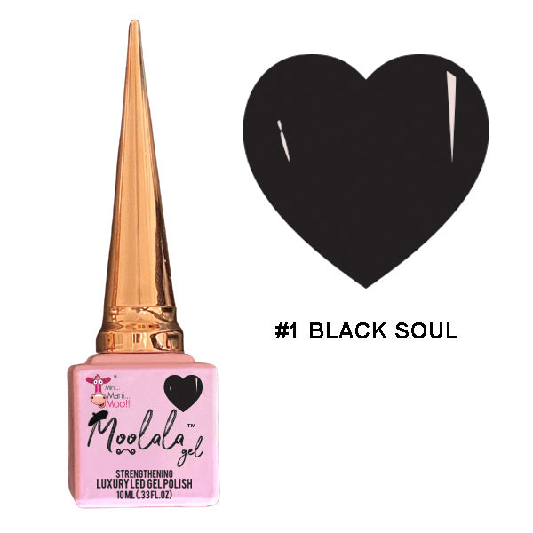 Moolala™ 2 STEP GEL - #1 BLACK SOUL