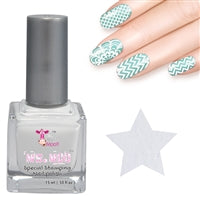 Nail art polish 15 ml WHITE