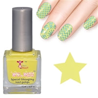Nail art polish 15 ml PASTEL YELLOW