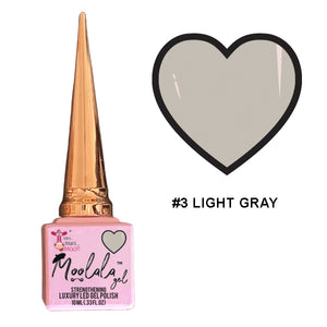 Moolala™ 2 STEP GEL - #3 LIGHT GRAY