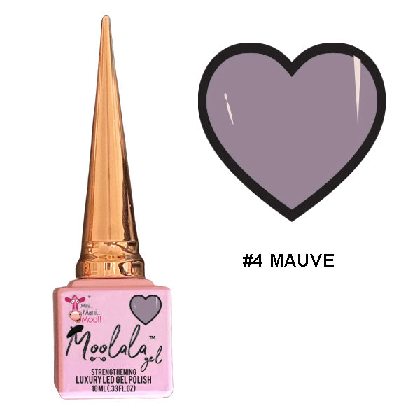 Moolala™ 2 STEP GEL - #4 MAUVE
