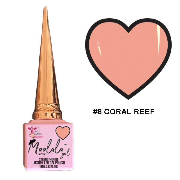 Moolala™ 2 STEP GEL - #8 CORAL REEF