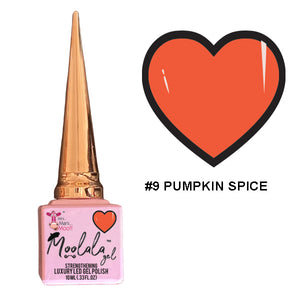 Moolala™ 2 STEP GEL - #9 PUMPKIN SPICE
