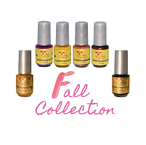 Basic 4 colors Special stamping polish