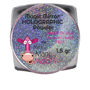 Magic Mirror BLUE holographic powder