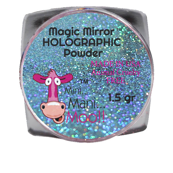 Magic Mirror AQUA holographic powder