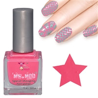 Clear jelly head pink stamper