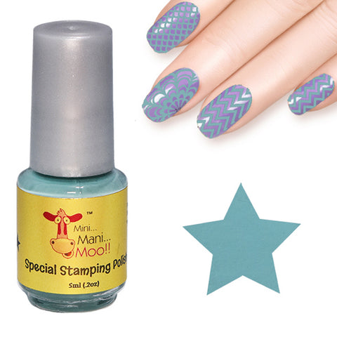 Nail art polish 5 ml PASTEL YELLOW