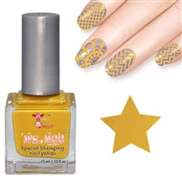 Nail art polish 15 ml MUSTARD