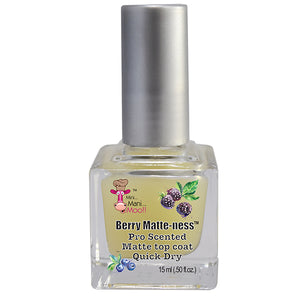 Berry Matte-ness Scented Matte top coat